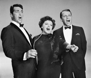 Frank with Judy Garland and Dean Martin