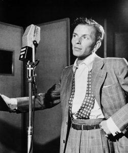 Frank Sinatra and radio show